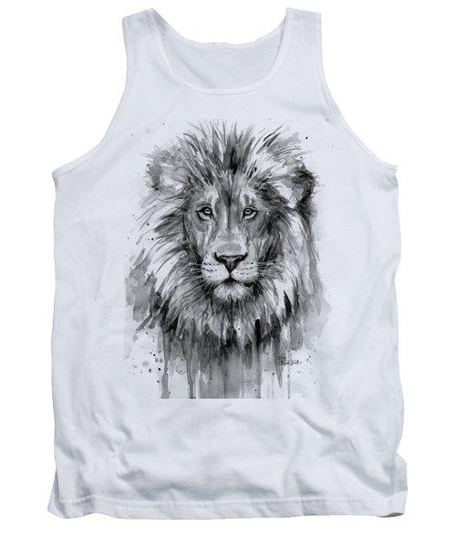Lion Watercolor  Tank Top