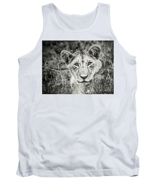 Lioness Portrait Tank Top