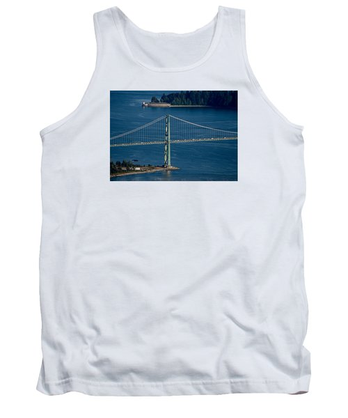 Lions Gate Bridge And Brockton Point Tank Top