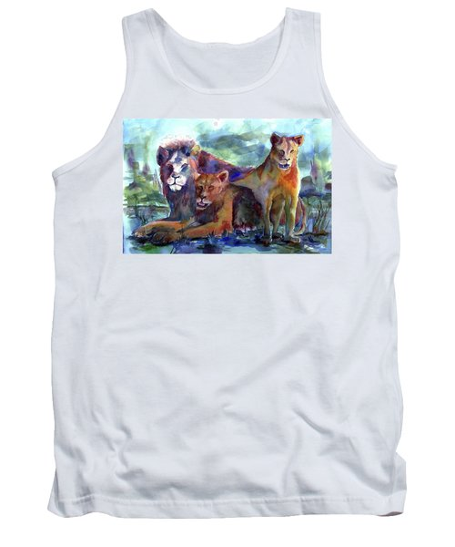 Lion's Play Tank Top