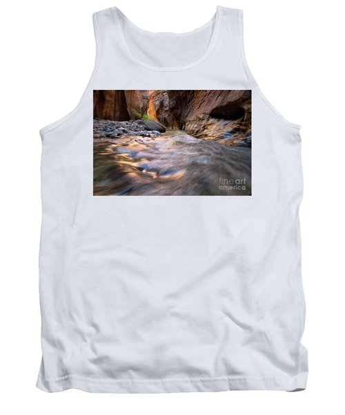 Liquid Gold Utah Adventure Landscape Photography By Kaylyn Franks Tank Top