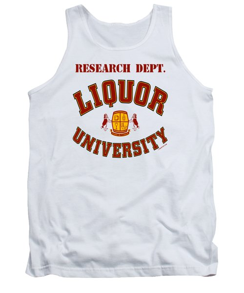 Liquor University Research Dept. Tank Top