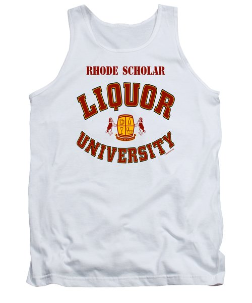 Liquor University Rhode Scholar Tank Top