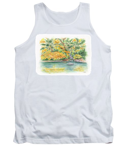 Lithia Park Reflections Tank Top