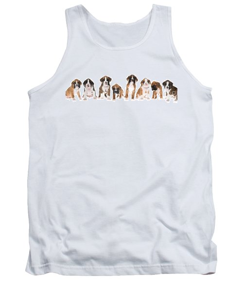 Litter Of Boxer Puppies Tank Top