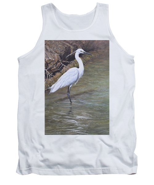 Little Egret Tank Top