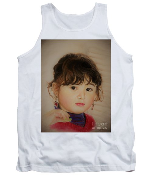 Little Girl Tank Top
