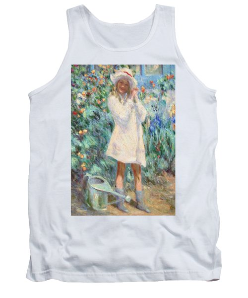 Little Girl With Roses / Detail Tank Top