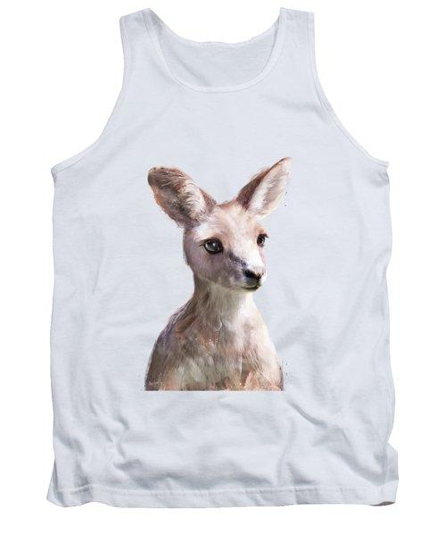 Little Kangaroo Tank Top by Amy Hamilton