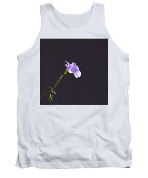 Little Lavender Flowers Tank Top by Kathy Eickenberg