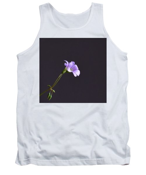 Little Lavender Flowers Tank Top
