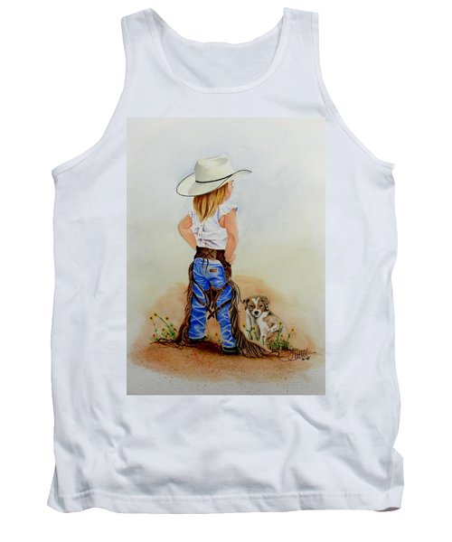 Little Miss Big Britches Tank Top