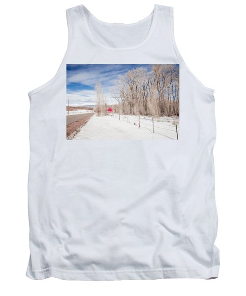 Little Red Barn Tank Top