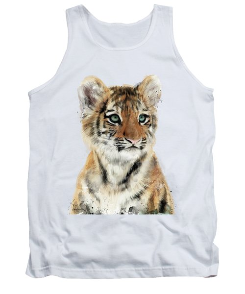 Little Tiger Tank Top by Amy Hamilton