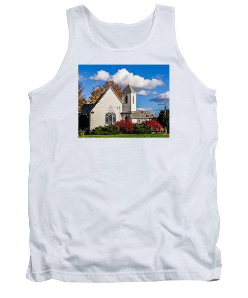 Little White Church Tank Top
