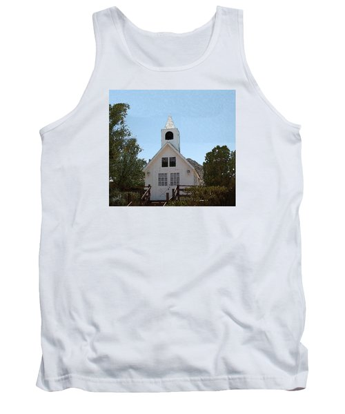 Little White Church Tank Top
