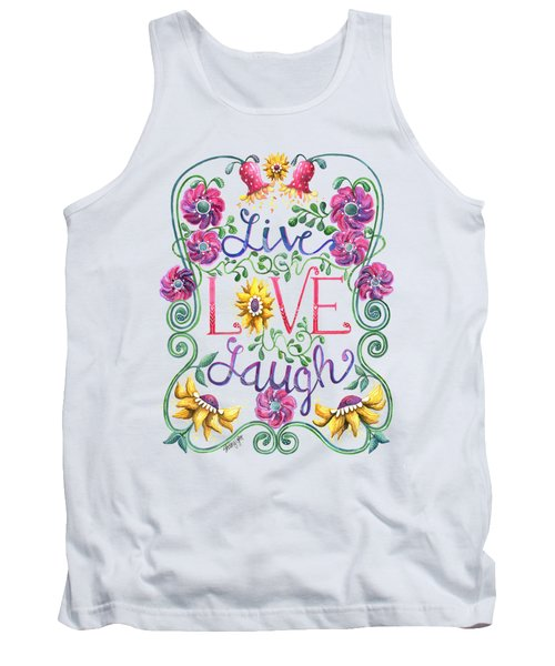 Live Love Laugh Tank Top