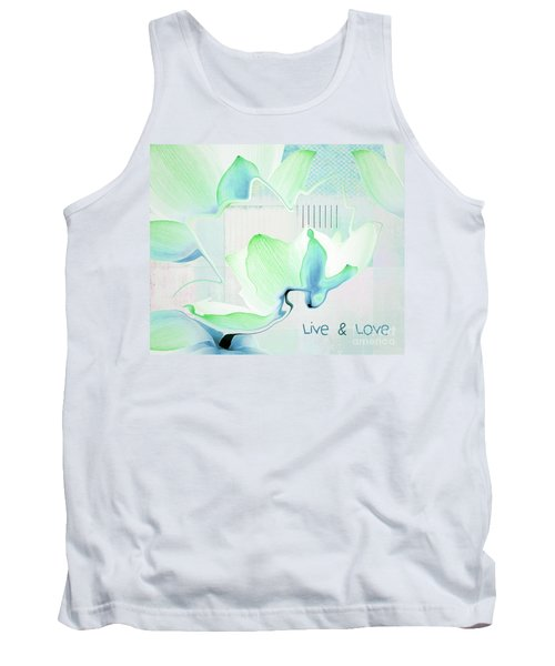 Tank Top featuring the photograph Live N Love - Absf15 by Variance Collections