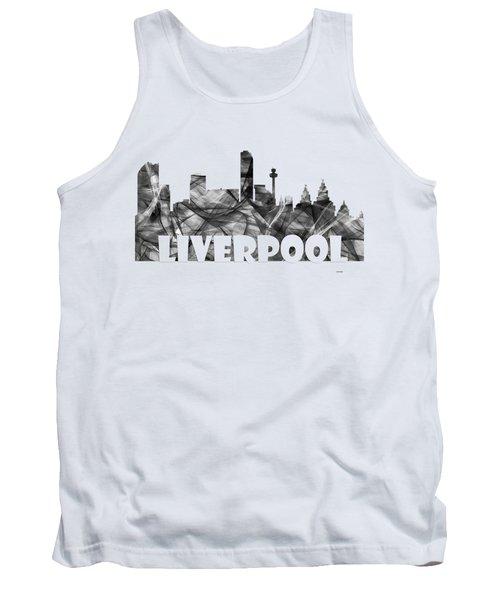Liverpool England Skyline Tank Top