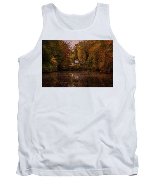 Living Between Autumn Colors Tank Top