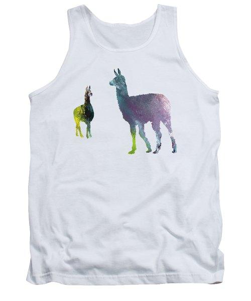 Llama Tank Top by Mordax Furittus