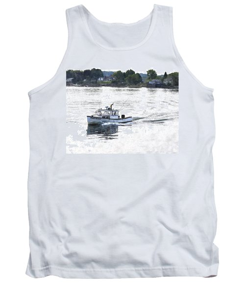 Lobster Boat Lbwc Tank Top