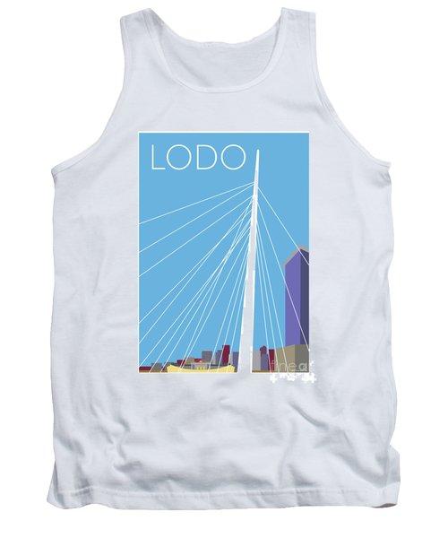 Lodo/blue Tank Top
