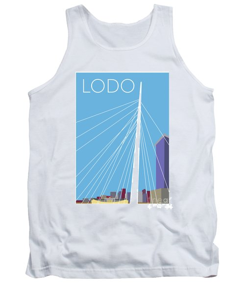 Lodo/blue Tank Top