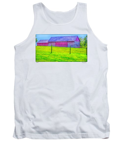 Log Barn Tank Top by R Thomas Berner