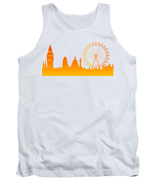 London City Skyline Tank Top