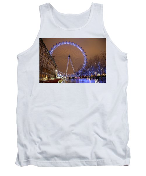 Tank Top featuring the photograph Big Wheel by David Chandler