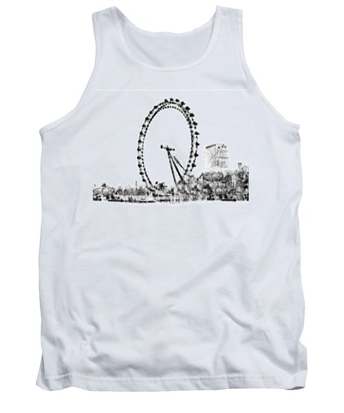 London Eye Tank Top by ISAW Gallery