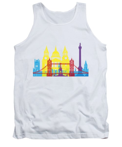 London Skyline Pop Tank Top
