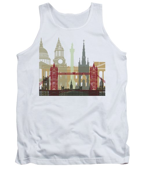 London Skyline Poster Tank Top