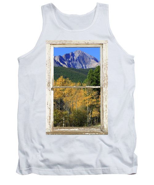 Longs Peak Window View Tank Top