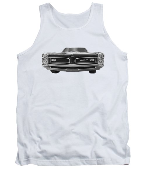Look At Me - Gto Black And White Tank Top