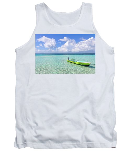 Look At This Beautiful Blue Water Tank Top