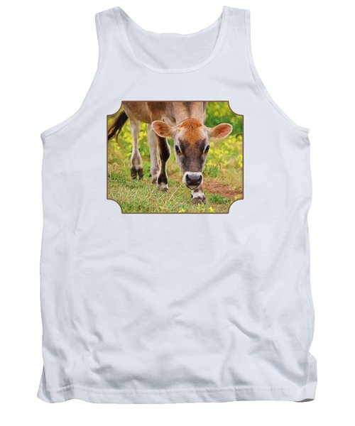 Look Into My Eyes - Painterly Tank Top