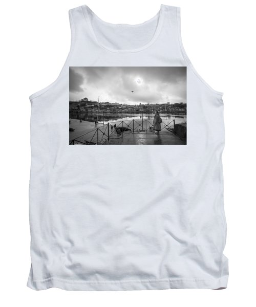 Looking And Passing By Tank Top