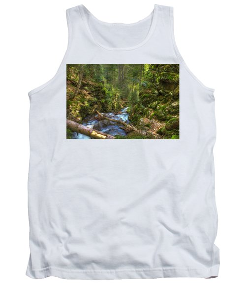 Looking Down The Gorge Tank Top