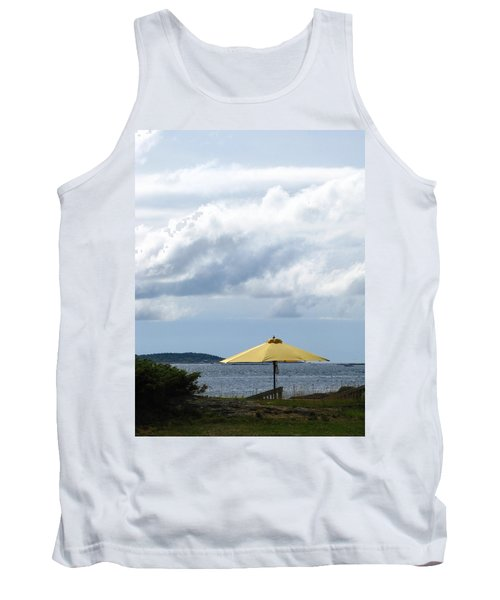 Looking Out To Sea Tank Top