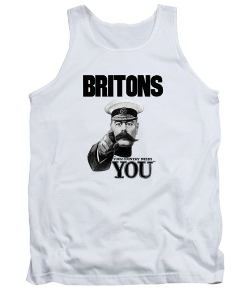 Lord Kitchener - Britons Your Country Needs You Tank Top