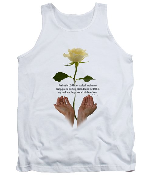Lord, O My Soul Tank Top by Ann Lauwers