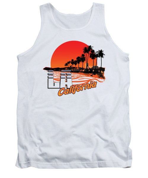 Los Angeles California Tank Top