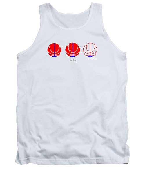 Tank Top featuring the digital art Los Angeles Clippers Logo Redesign Contest by Tamir Barkan