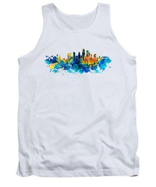 Los Angeles Skyline Tank Top