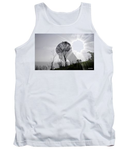Lost Connection With Nature Tank Top by Paulo Zerbato