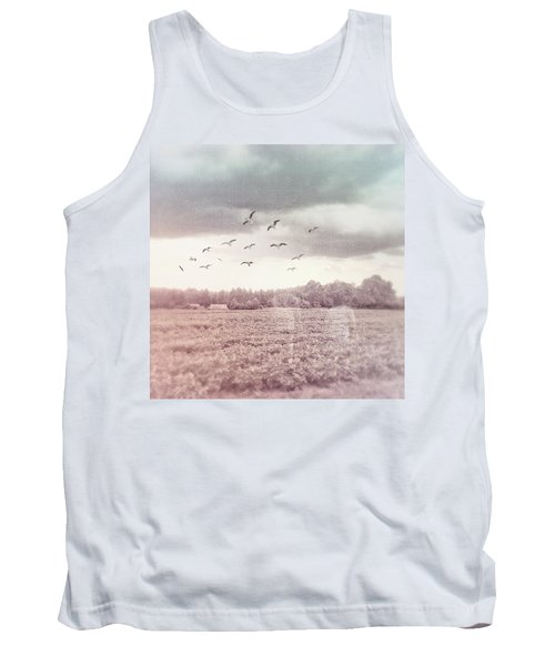 Lost In The Fields Of Time Tank Top