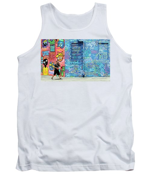 Lost In Translation Tank Top by Keith Armstrong