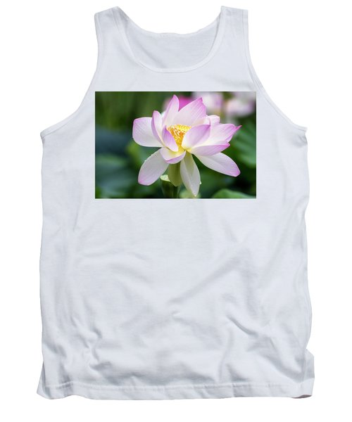 Tank Top featuring the photograph Lotus by Edward Kreis